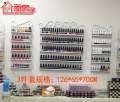 3 PCS/set Cosmetic display rack hanging nail polish shelf
