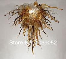 Flower Shaep Hotel Lighting Murano Handmade Glass Chandelier