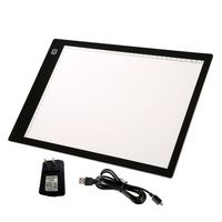 USB Powered Ultra Thin A4 LED Eyesight Protected Touch Dimmable Animation Tracing Light Box Tablet Pad