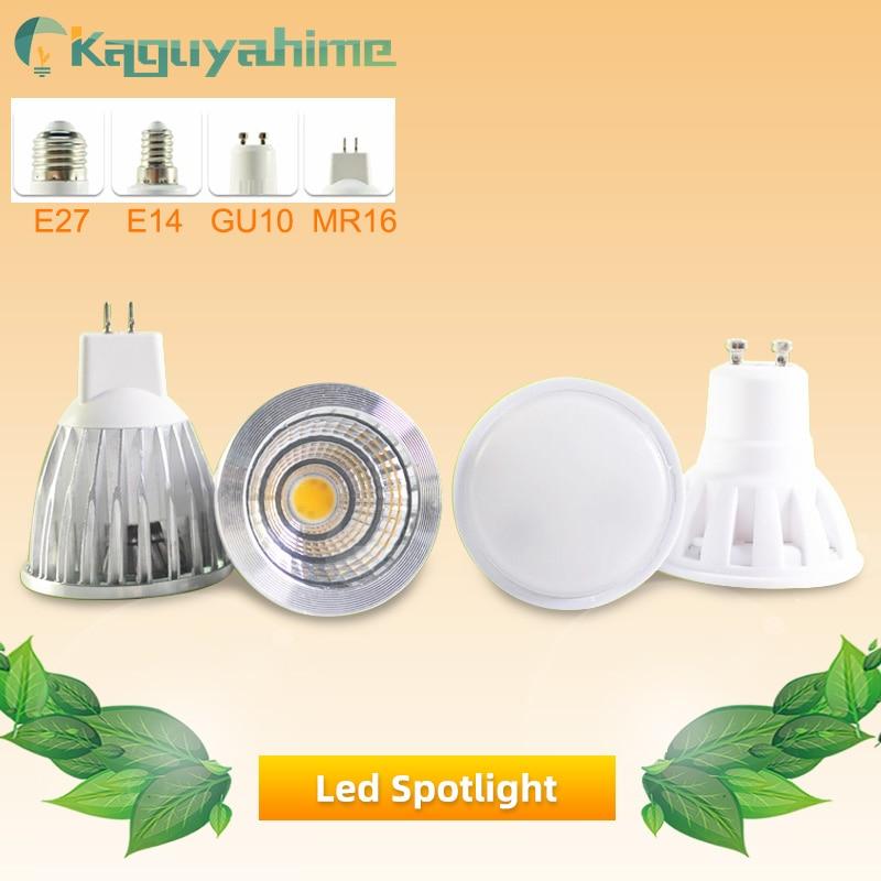LED Lamp GU10 MR16 E27 E14 LED Bulb 3W 5W 6W 7W AC 220V 240V Lampada Aluminum LED Spotlight Energy Saving Home Lighting