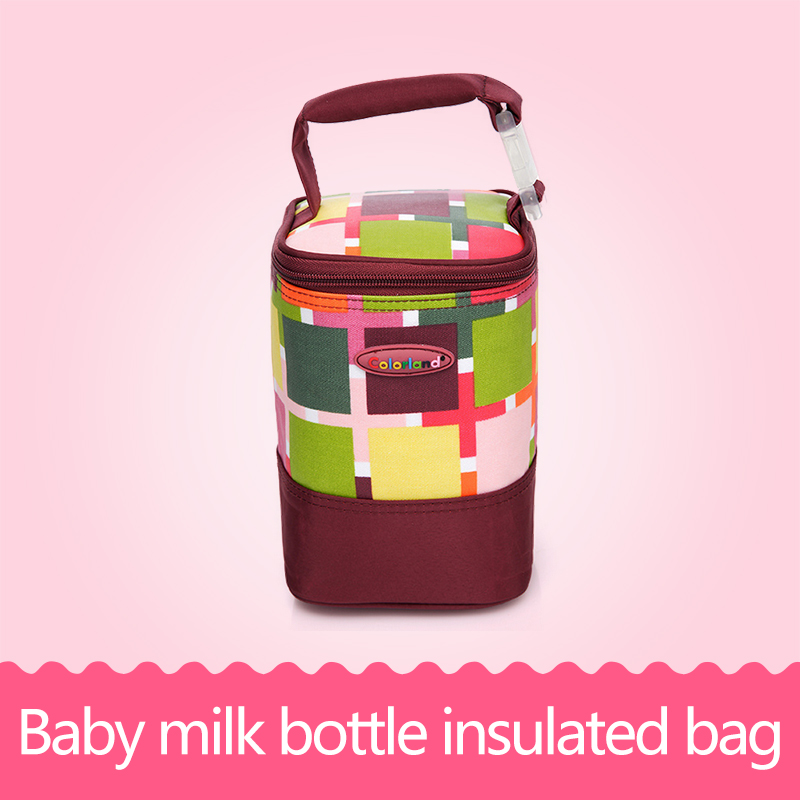 Baby Feeding Bottle Insulation Bag Warmer Mummy Tote Bags Waterproof Mummy Bag Stroller Hanging Multi Functional