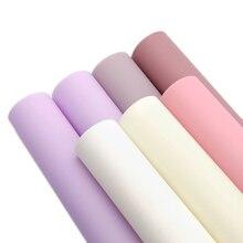 20*34 см простой цветной для желе из ПВХ искусственная кожа, материалы для ручных поделок для волос с бантом чехол для телефона сумка, 1Yc5996