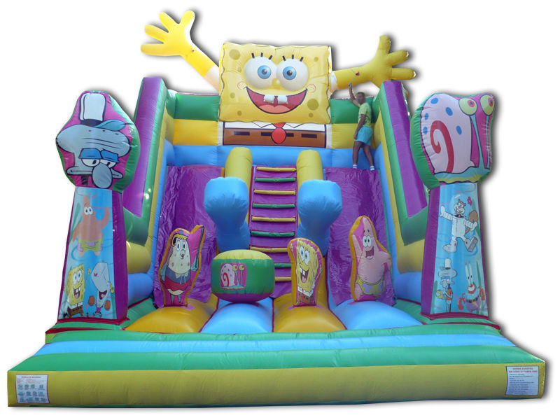 (China Guangzhou) manufacturers selling inflatable slides, inflatable castles,  CHA-120