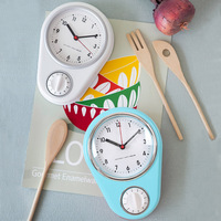Mini Kitchen Timers Household Bathroom Clocks Cutlery Utensil Furnishing Kitchenware Decoration Art Watch 2018 Fashion Style