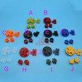 Multi-Color de Botones para Gameboy Classic GB Teclados para GBO DMG DIY para Gameboy Ab botones D-pad