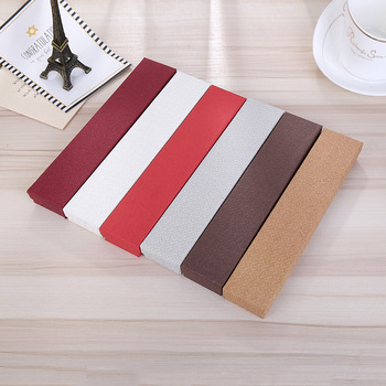 цена на Jewelry Package 10 Pcs/Lot Pure Color Brown Paper Boxes Necklace Watch Braceket  Gift Box Cases Display  Good Quality