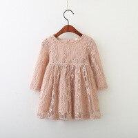 13 98 Per Pieces Vieeolove Baby Girls Kids Dress Tutu Lace Dress 2018 New Spring