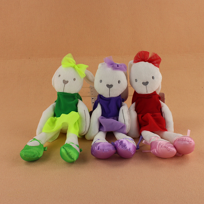 3 Styles 42cm Lovely Rabbit Sleeping Comfort Doll Millie Boris Smooth Obedient Rabbit Sleep Calm Plush