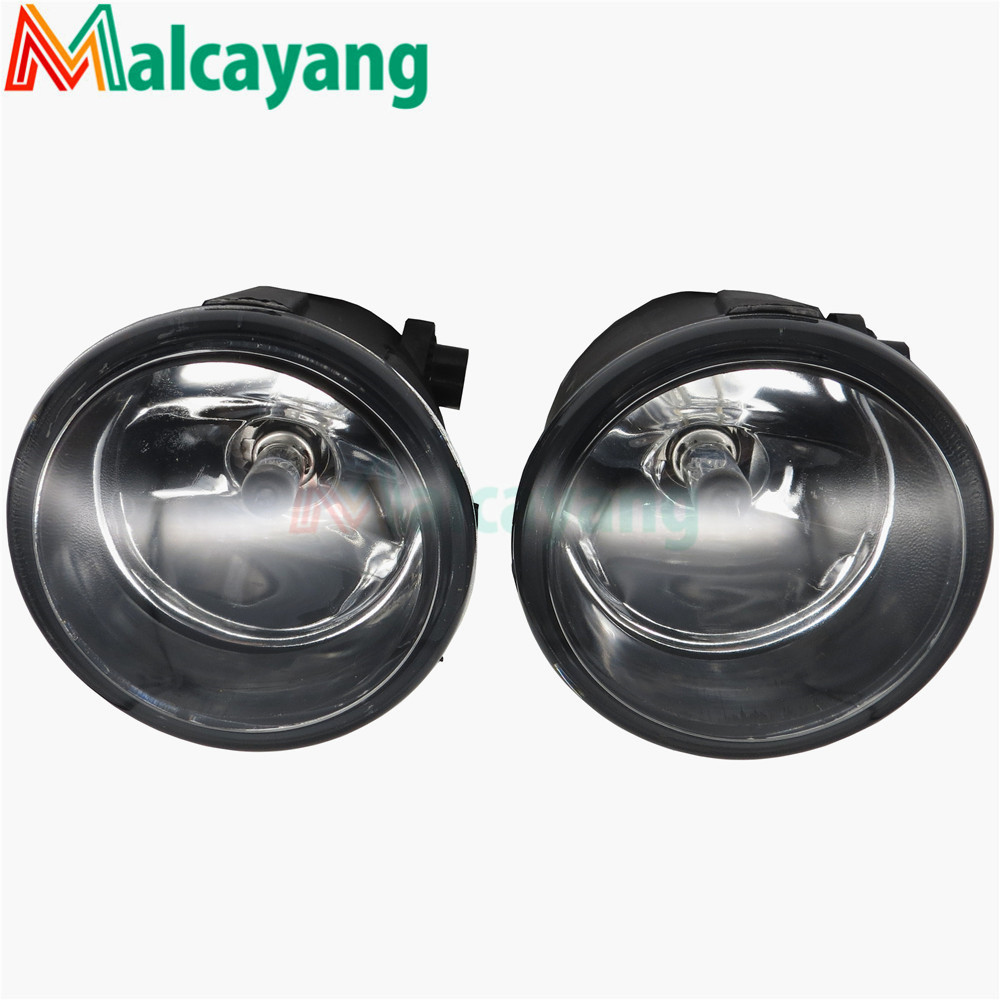 1 SET (Left + right) Car Styling Front Halogen Fog Lamps Fog Lights 26150-8990B For NISSAN Tiida Saloon SC11X 2006-2012 2 pcs set car styling front bumper light fog lamps for toyota venza 2009 10 11 12 13 14 81210 06052 left right