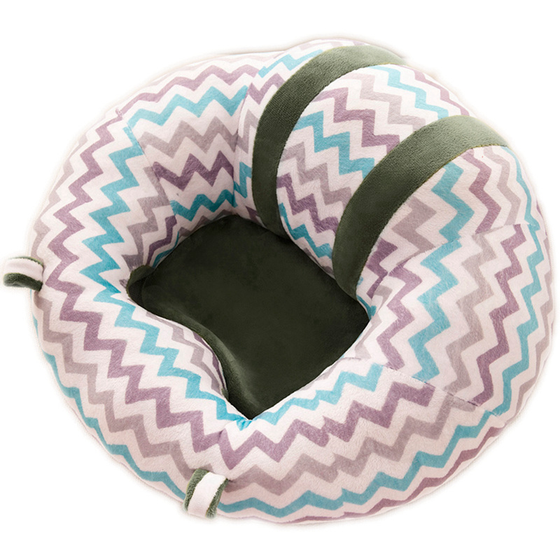 Cute Soft Baby Seats Sofa Blanket Cushion Baby Learning To Sit Chair PP Cotton Support Baby Seat Baby Toddler Sitting