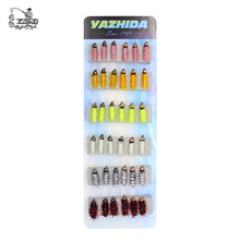 36PCS Nymph Fly Fishing Flies Set Fly Tying Kit Lure for Coregonus Perch Trout Flies 8# 10# 12# Nymph Assortment Fishing