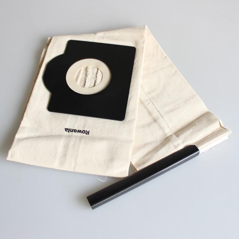 Универсальный Hepa ткань из микрофибры мешки-пылесборники для Rowenta Пылесосы очиститель Запчасти RU100 RU101 RB820 RB880 RU630 RU1113