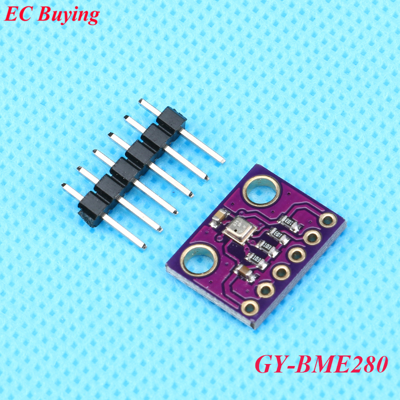 BME280 Digital Temperature Humidity Atmospheric Pressure Sensor Module GY-BME280 High Precision I2C SPI 3.3V Embedded Smart Home