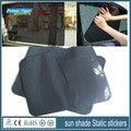 38*42 cm 2 Tabletas de Aire Rejilla Negro parasol Del Coche pegatinas Estáticas Aislamiento Protector Solar Ultravioleta-prueba Buena Transmisión de la luz