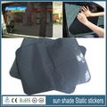 38*42cm 2 Tablets Air  Black Grid Car sun shade Static stickers Ultraviolet-proof Sunscreen Insulation Good light Transmission