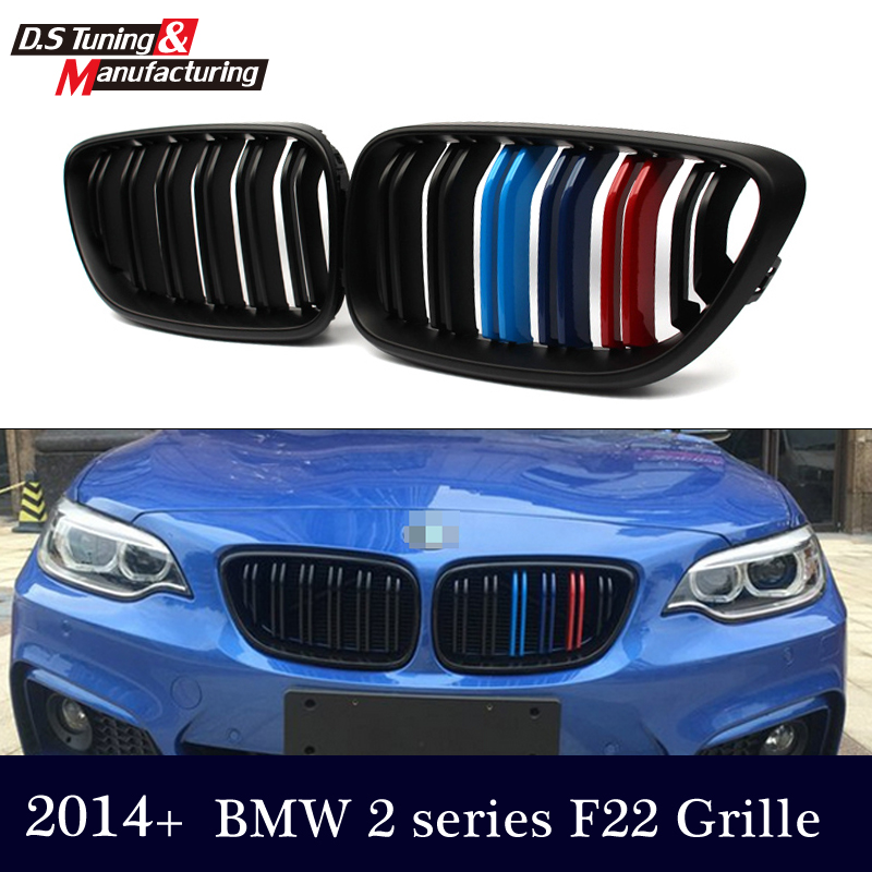 F22 M2 Look Grille Replacement Front Bumper Grill Racing