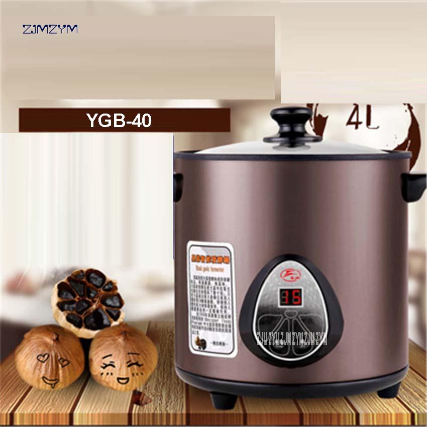 YGB-40 4L Intelligente Fermentation Machine Ail Noir Santé Alimentaire Maker Accueil Cuisine Cuisine Robot Cuisine Ustensile 70 W Puissance