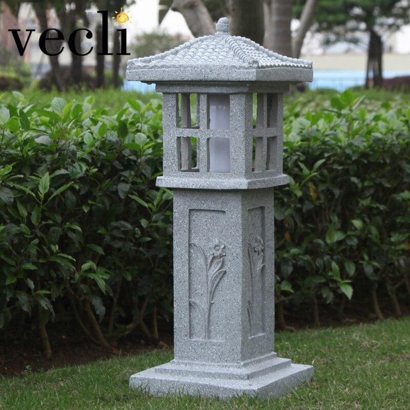 Креативный светильник для газона с имитацией камня сада двора парка улицы