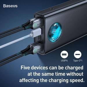 Image 2 - Baseus 30000mAh Power Bank USB C PD3.0 Fast Quick Charge 3.0 30000 mAh Powerbank Portable External Battery Charger For Xiaomi mi