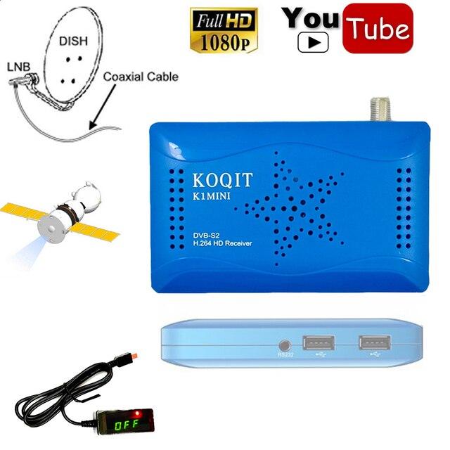 2018 Dual USB Host Digital DVB-S2 Satellite Receiver Support Wifi HD AC3 1080P IKS CS Cline Decode Decode Power Vu Youtube Video