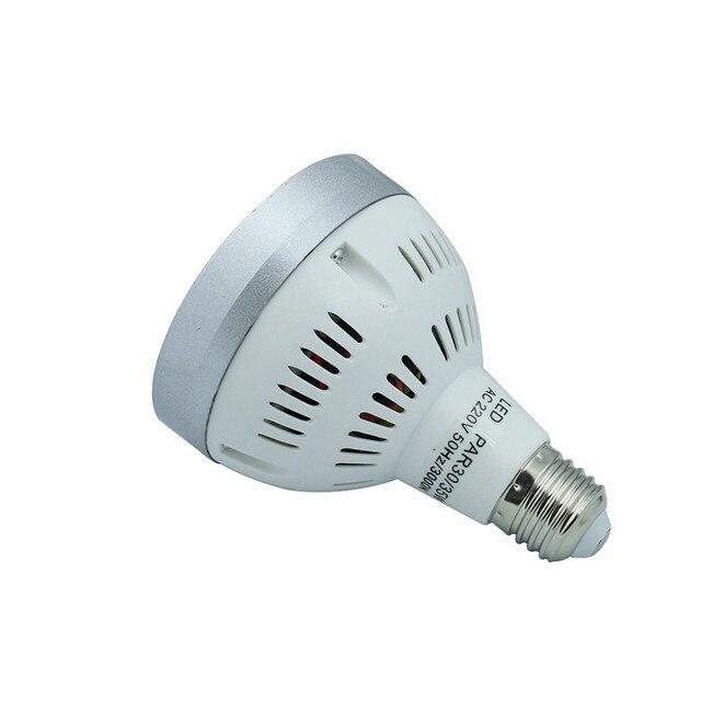 Ultra Bright Osram E27 PAR30 35W, 24 led spotlight bulb,led track light AC85-265V led e27 par30 lamp bulb 10pcs/lot
