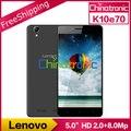 "Оригинальный Новый Lenovo K10e70 4 Г FDD LTE Android 6.0 Мобильный телефон Snapdragon210 Quad-core Dual SIM 5.0 ""HD 1 Г/2 Г RAM 8 Г/16 Г ROM 8MP"