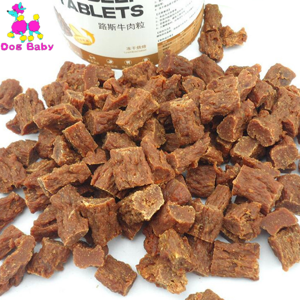 DOGBABY Health Pets Food Feeders Beef Chicken Original Flavor Dogs Snacks Pure Natural Ingredients Food For Small Large Dogs image