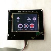 3d Printing Elements MKS TFT28 V1 2 Touch Screen RepRap Controller Panel Color Display SainSmart Splash