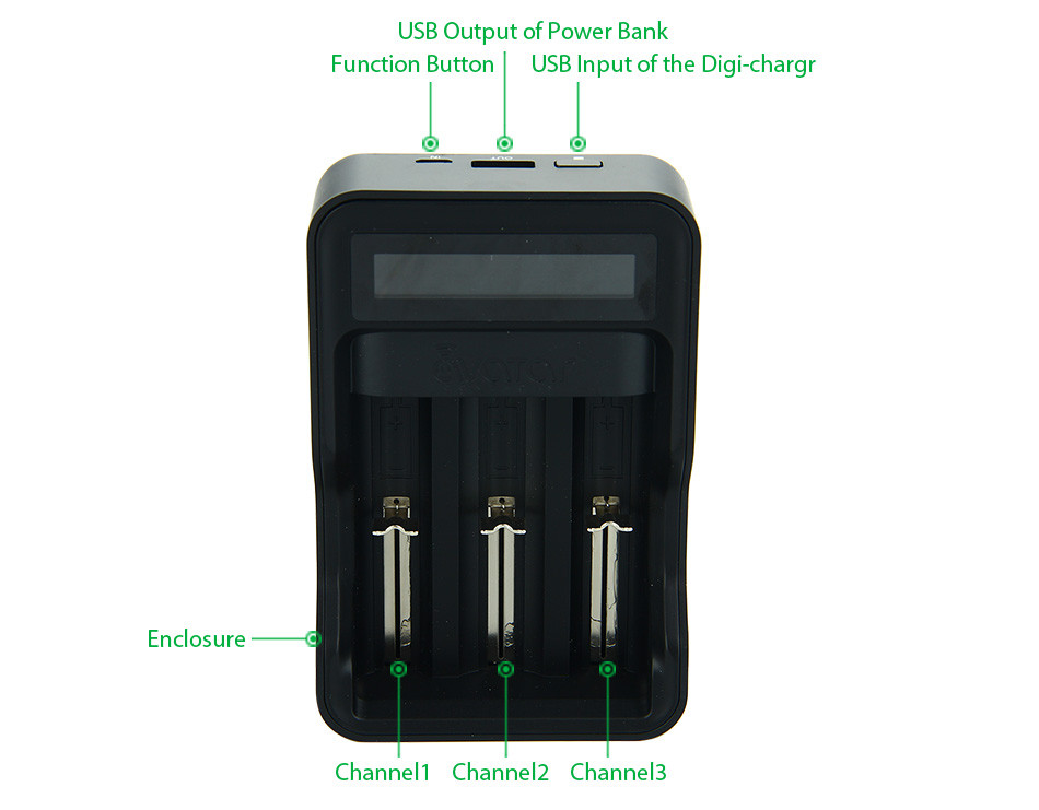 Avatar Intelligent Battery Digicharger Kit 3