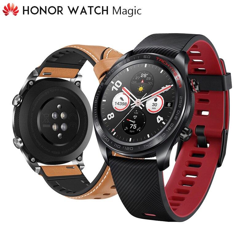 Originele Huawei Honor Horloge Magic Outdoor Smart Horloge Verfijnd Vakmanschap 7 Dagen Per Lading Gaan Overal Slimmer Living GPS-in Smart watches van Consumentenelektronica op  Groep 1