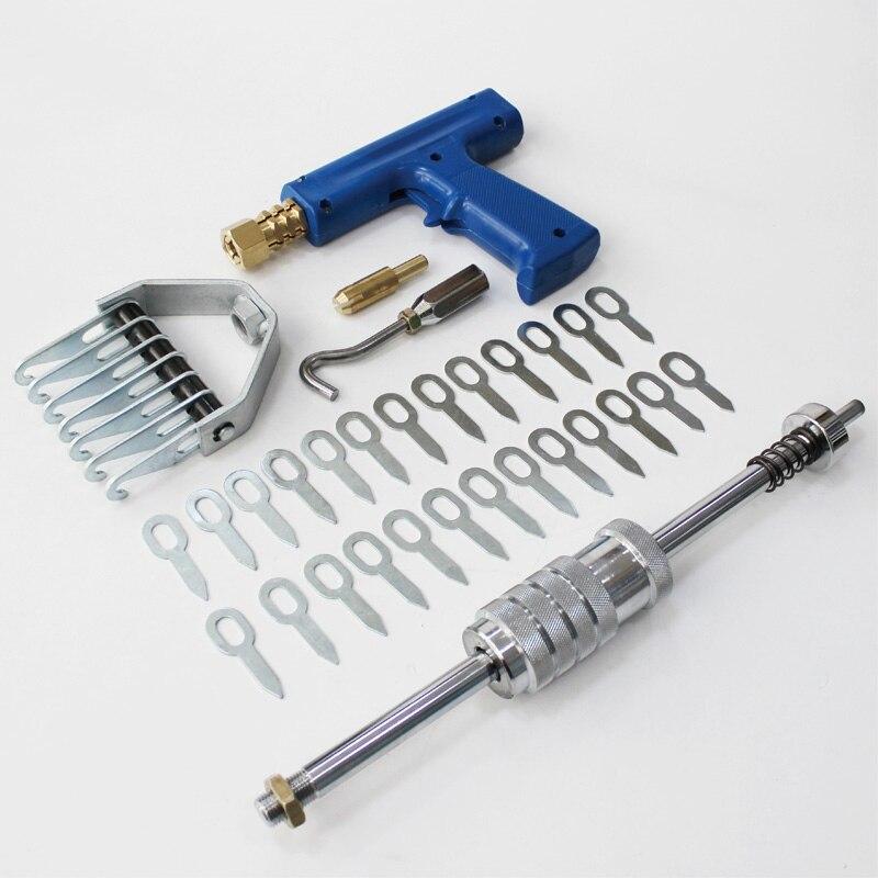 Spotter consumíveis kit pistola de solda a ponto martelo deslizante suporte de eletrodos de cobre com puxando gancho para ferramentas de reparo do carro