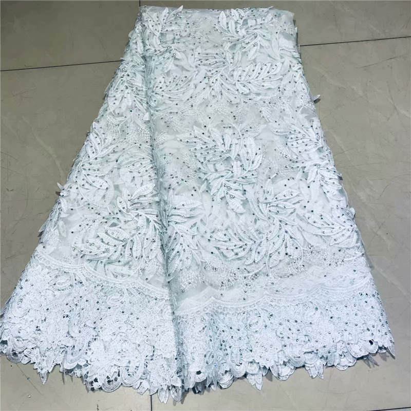 ZQJ!African Lace Fabric 2019 French Cord Lace Fabric Embroidered Nigerian Tulle Lace Fabric With Stones For Wedding ! P60308ZQJ!African Lace Fabric 2019 French Cord Lace Fabric Embroidered Nigerian Tulle Lace Fabric With Stones For Wedding ! P60308