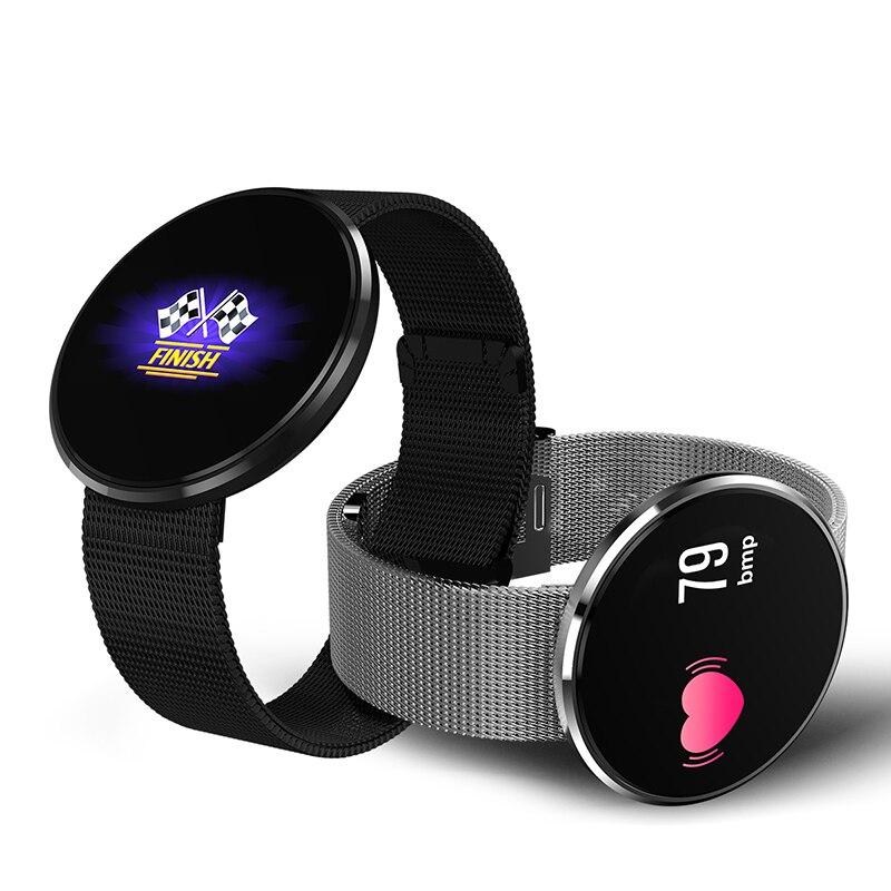 Écran coloré de HD CF006 montre intelligente Bluetooth Smartwatch écran tactile montres intelligentes pour téléphone Android IP67 GPS fréquence cardiaque