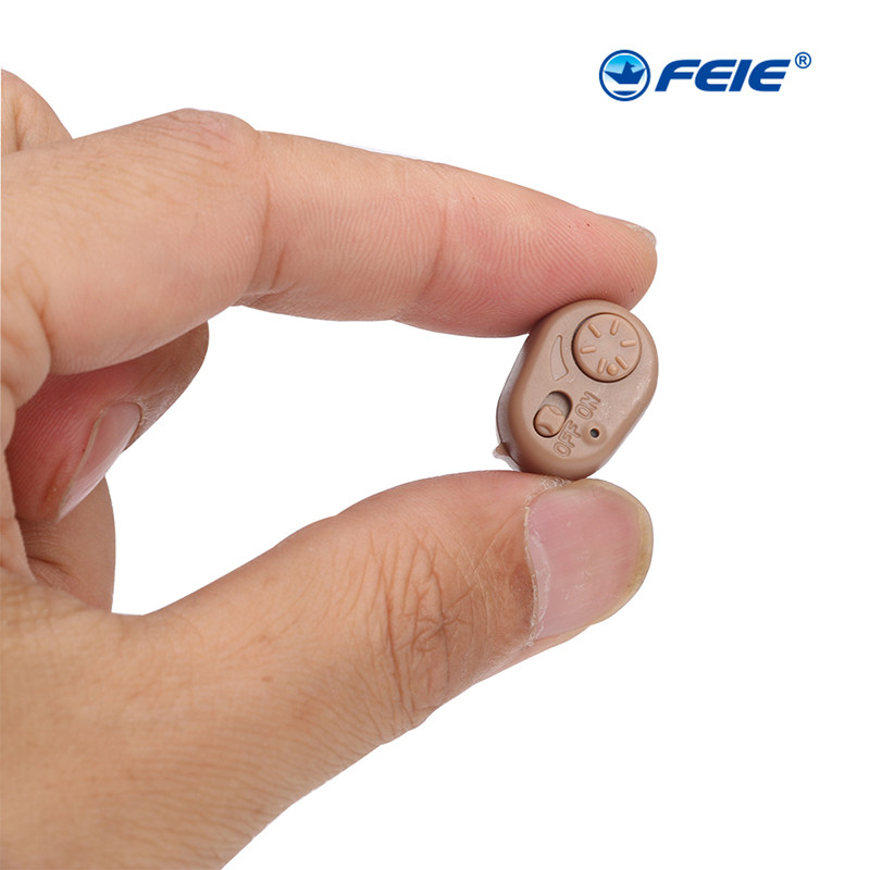 ITC Hearing Aid for the Elderly Deaf mini in ear Invisible Sound Amplifier New Technology Low Noise Hearing Aids AdjustableS-213 digital hearing aids medical health ear care low noise mini invisible sound amplifier deaf aid s 11a