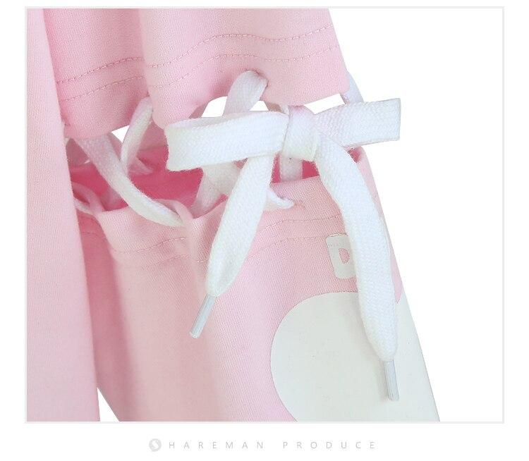 [STOCK]Game OW Figure D.VA DVA Cotton Fleece Hoodie Tied Long sleeve Dress Pullover cosplay costume  Winter Coat NEW Free ship 3