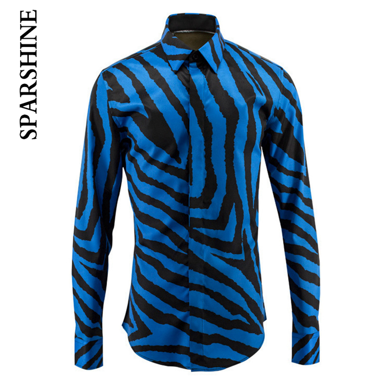 Black Shirt Men With Blue twill Chemise Homme 2016 Luxury Fashion Design Slim Long Sleeve Mens Dress Shirts Brand Cotton Shirt