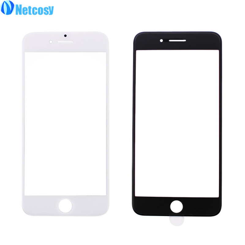Netcosy For iphone 4S 5S 6S 7P Front Outer Glass Lens Cover replacement For iphone 4 4G 4S 5G 5S 5C 6G 6S 6P S6P 7 7P Lcd glass image