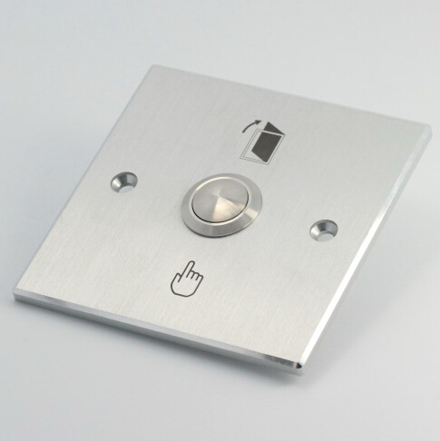 ELEWIND Door bell push button with rectangular silver panel(PM191B-10/S)ELEWIND Door bell push button with rectangular silver panel(PM191B-10/S)