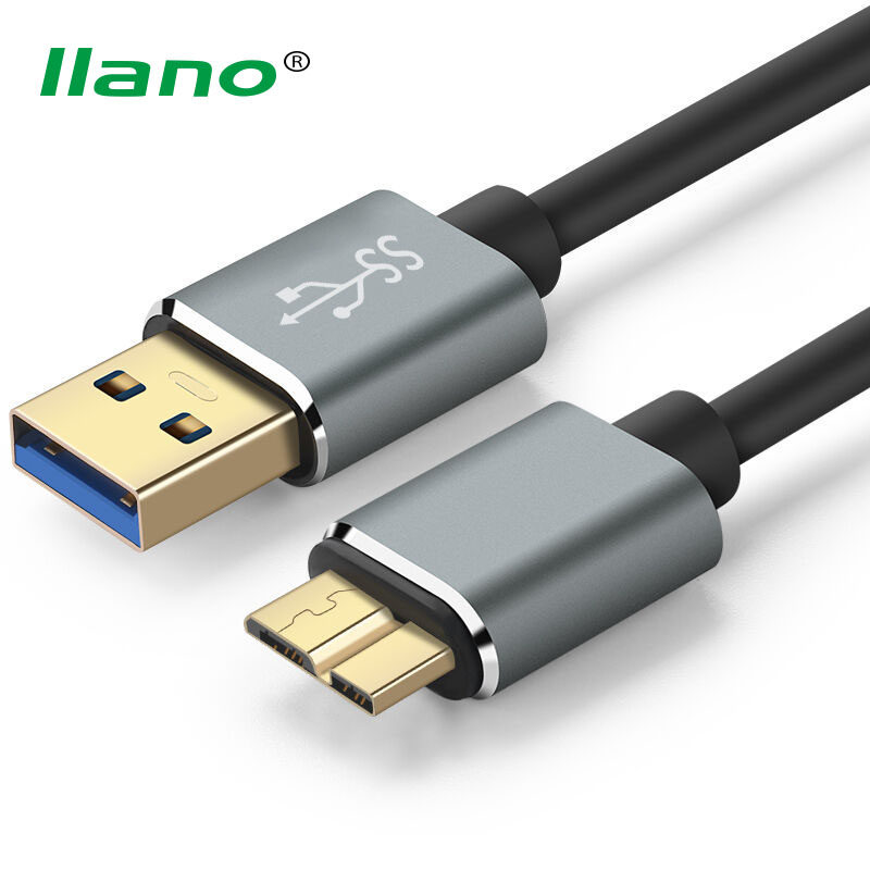 llano USB 3 0 Type A Micro B USB3 0 Data Sync Cable Cord for font