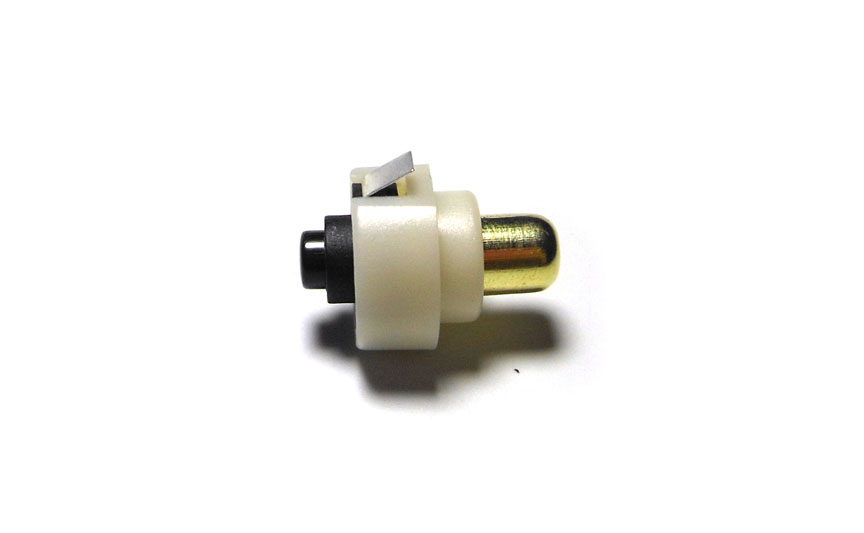 Details about  /2Pcs 20mm LED Flashlight Push Button Switch ON// OFF Electric Torch Tail Swi L3