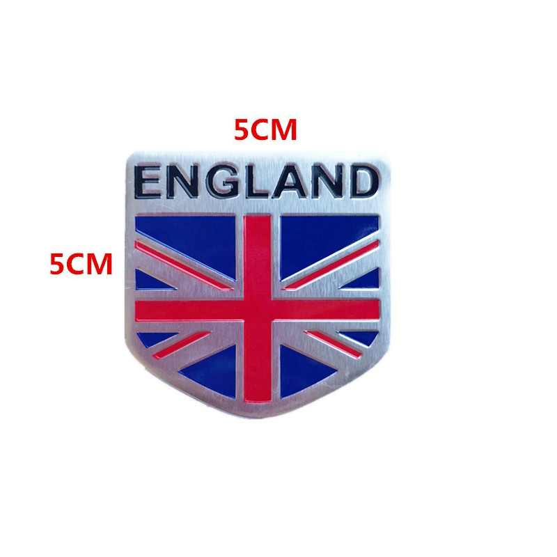 Union Jack England Flag Aluminum Sticker Auto Car 3D Logo Emblem Badge Decal