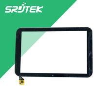 "NUEVO 10.1 ""pulgadas Negro GSL3680B F800123C-1 T101WXHS02A02 SG1001 Pantalla Táctil Capacitiva 3G Tablet Touch Panel Digitalizador lente de Cristal"