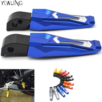 good quality Motorcycle Folding Rearset Foot Pegs Motorcycle foot pegs For yamaha MT 10 MT10 2016 motorbike footrest pegs