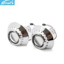 2.5 인치 Bi 제논 프로젝터 HID 렌즈 E46 ZKW M3 헤드 라이트 개조 자동차 스타일링 H1 전구 H7 H4 어댑터 홀더 액세서리 사용