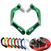 7/8 22mm Motorcycle Handlebar Brake Clutch Levers Protector Guard For Yamaha YZF600R 1995 2007