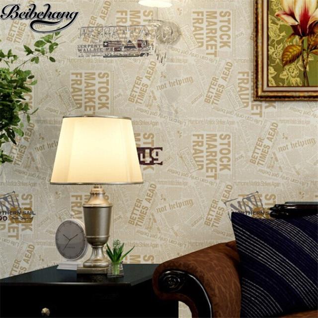 beibehang hoge kwaliteit land mediterrane stijl retro engels behang studie kinderkamer slaapkamer achtergrond behang