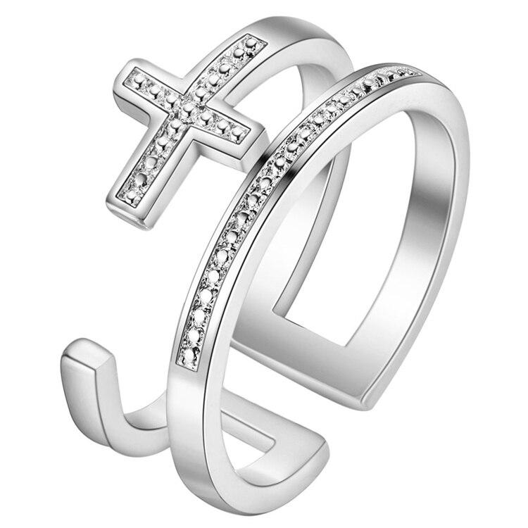 Verlobungsringe Modeschmuck Ringe Neue Heiße Silber Hochzeitsgeschenke Großhandel Pj257 Ein GefüHl Der Leichtigkeit Und Energie Erzeugen