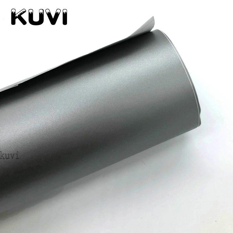 152 см X 30 см матовая серебристо-серая виниловая пленка для автомобиля, мотоцикла, скутера, сделай сам, Стилизация, клейкая пленка, лист с возду...