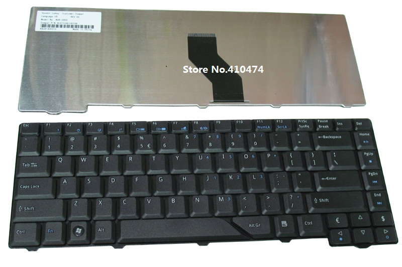 Ssea New Laptop Us Keyboard For Acer Aspire 4520 4710 4720
