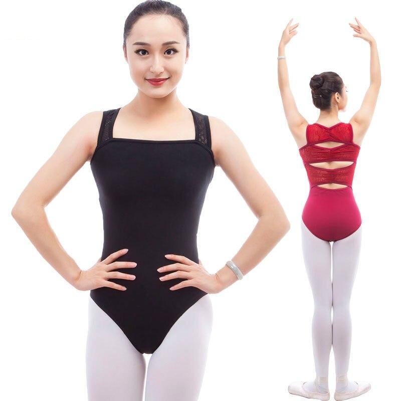 679baea92 black dance wear gymnastics leotard dancewear ballet lace women ...